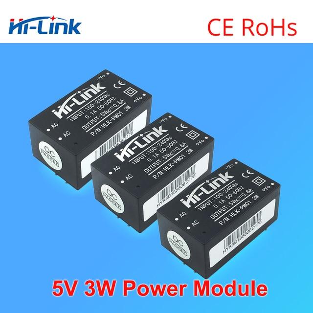 Envío Gratis 20 unids/lote 90-265 V a 5 V 3 W pequeño volumen fuente de alimentación módulo de conmutación aislado inteligente transformador de CA CC para el hogar