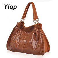 New 2014 Women Genuine Leather Handbags Famous Shoulder Bags Women Designers Brands Bag Vintage Tote Bags