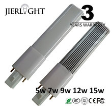 3 years warranty 5w 7w 9w 12w 15w G23 led bulb light G23 led lamp pl light pl-s replacement(China)