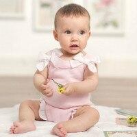 Baby Girl Bodysuits Newborn Clothes Autumn 2018 Infant Cotton Knitted Bodysuit New Born Onesize Baby Body Suit Neonato Boxpakje
