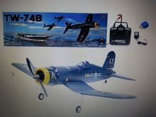 Details about F-4U CORSAIR RTF 4 Channel Electric Plane RC Remote Control