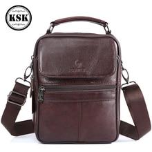 Men Bag Messenger Bag Genuine Leather Bag Shoulder Handbag Luxury Handbags Flap Crossbody Bags For Men 2019 Fashion KSK