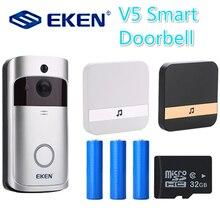 V5 Smart IP Video Intercom WIFI deurbel Phone Door Bell Video-eye Camera For Apartments IR Alarm Wireless Door for Video Door все цены