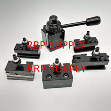 Set. Post 250-000-Tool-Post Quick-Change-Tool Zhengzhou-Wedge Mini 1pc Gib-Type Brand