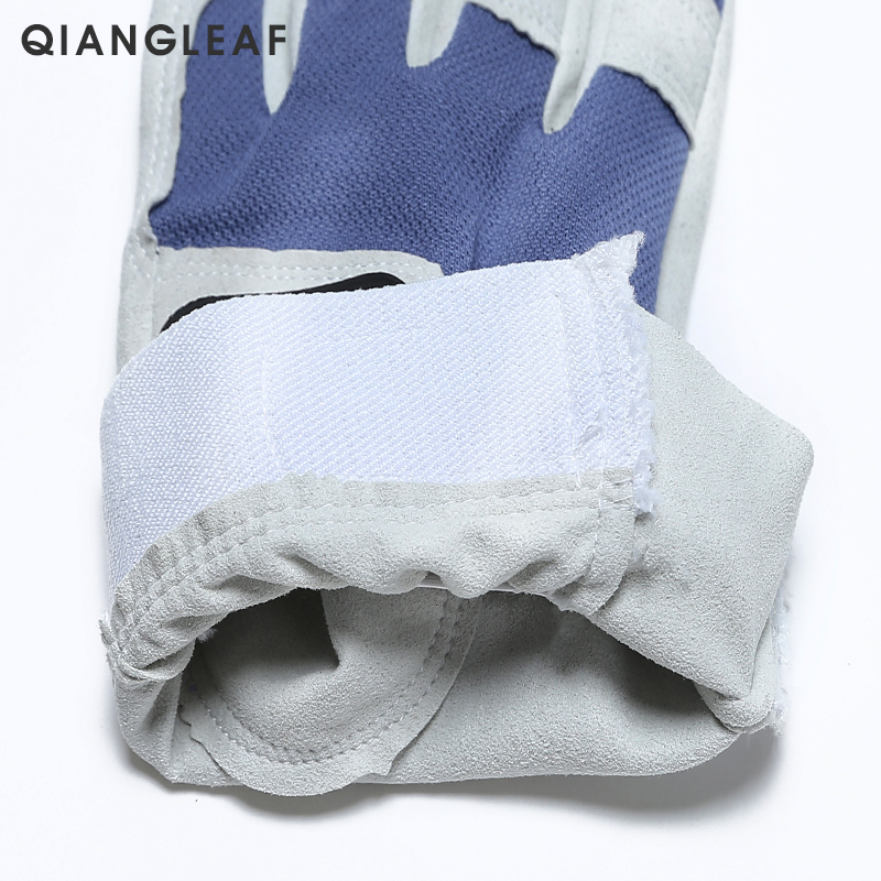 Image 4 - QIANGLEAF Work gloves gardening glove new design microfiber security gloves hot sale sport gloves 6470-in Safety Gloves from Security & Protection