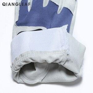 Image 4 - QIANGLEAF Work gloves gardening glove new design microfiber security gloves hot sale sport gloves 6470