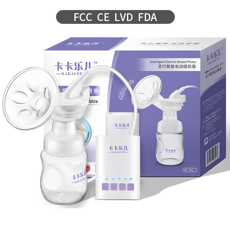 Electric Breast Pump Baby Breastmilk Pump PP Bottle USB Adjustable Mode Power Automatic Baby Milk Extractor Feeding Products