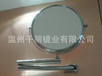 Folding factory direct supply wall mirror copper cosmetic mirror beauty mirror makeup mirror