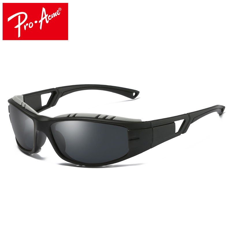 Pro Acme Mens Sports Polarized Sunglasses for Men Travel Oculos Driving Golf Unbreakable Driving Goggles Sun Glasses CC1002