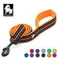 Truelove Soft mesh Nylon Dog Leash Double Trickness Running Reflective safe Walking Training Pet Dog Lead leash Stock 200cm hot