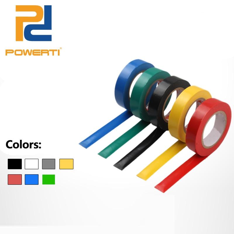 POWERTI 10pcs/lot Tennis Racket Sticker Tape Overgrip Adhesive Tape Sport 8cm for Badminton Tennis Squash Racket Tape