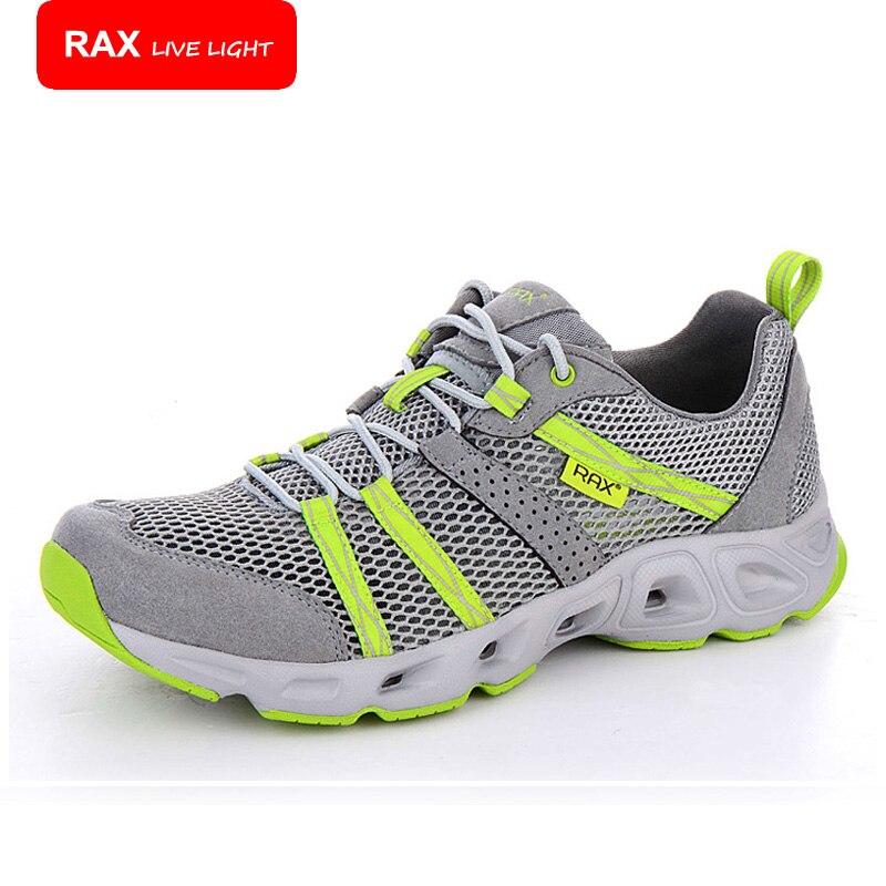 RAX zapatos para correr hombre 2017 de malla transpirable zapatos de agua con re