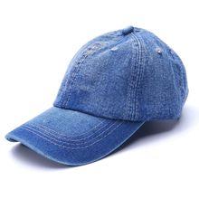 1 pz Utile Berretto Da Baseball Uomini Donne Cappelli di Golf per Le Donne  Visiera Bone Jeans Denim Vuoto Pianura del cappello D.. dfb98b38cc44
