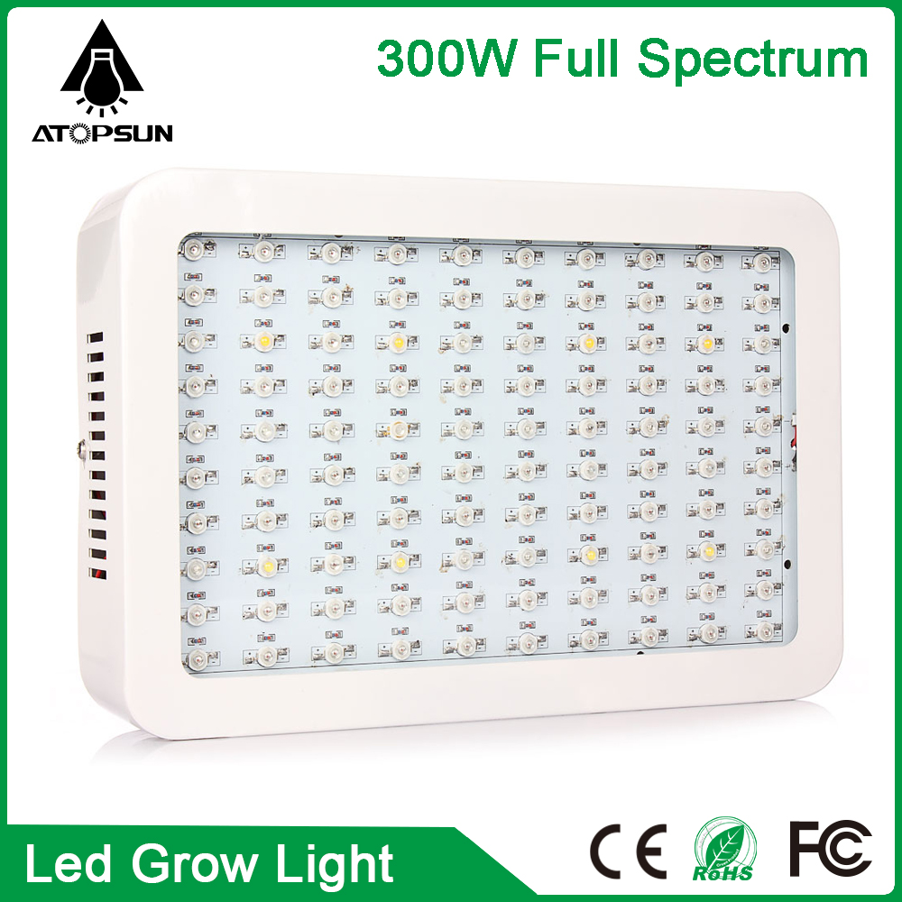 2pcs Full Spectrum Led Grow Light 300W Led Grow indoor Lamp For Plants Vegetables Hydroponic System Grow box/Tent AC85-265V