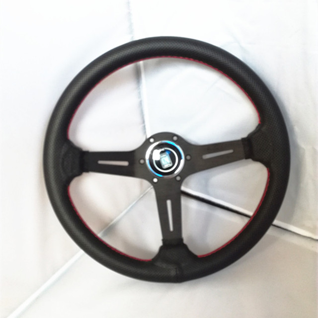 2016 new hot universal  14-inch ND  steering wheel   leather
