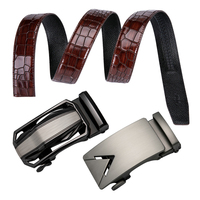 DUBULLE Men Belts Luxury Automatic Buckle Genune Leather Strap Black Brown for Man Belt Designers Brand High Quality Dropshippig