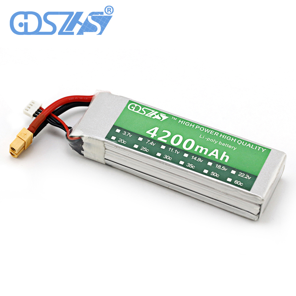 3s 30c 11.1v 4200mah airplane model battery aeromodeling battery model aircraft lithium polymer battery li-polymer drone battery 3 7v lithium polymer battery 601723 battery bluetooth headset battery length 23mm wide 17mm thick
