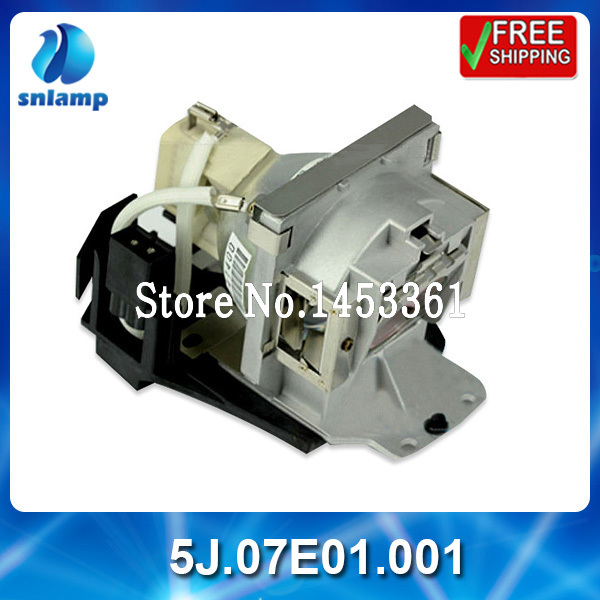 Replacement high quality compatible projector lamp bulb 5J.07E01.001 for MP771 free shipping 5j j5105 001 replacement projector lamp bulb for benq w710st high quality as origina