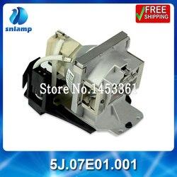 Wymiana wysokiej jakości kompatybilny lampa projektora żarówka 5J. 07E01. 001 do MP771 w Żarówki projektora od Elektronika użytkowa na