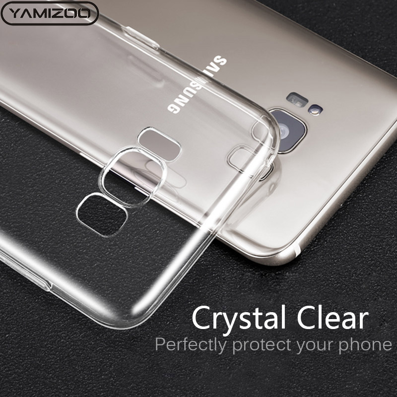 Clothes, Shoes & Accessories Silicone Transparent Cover For Samsung Galaxy S8 S9 Plus Note 8 Case Clear Soft Phone Cases For Samsung Galaxy S7 S6 Edge Funda