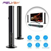 FELYBY LP-1807 беспроводной Bluetooth динамик Саундбар домашний кинотеатр аудио динамик отдельная Колонка AUX TF динамик s с микрофоном