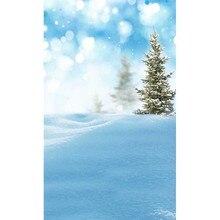 Snow Field Shining Spots Winter Custom Veritical Photography Backdrops Prop Digital Printed Photo Studio Background