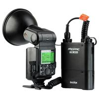 New Godox WITSTRO AD360II TTL 360W/S Wireless Power Control Outdoor Flash Light+PB960 Power Battery Pack Kit Black for Canon