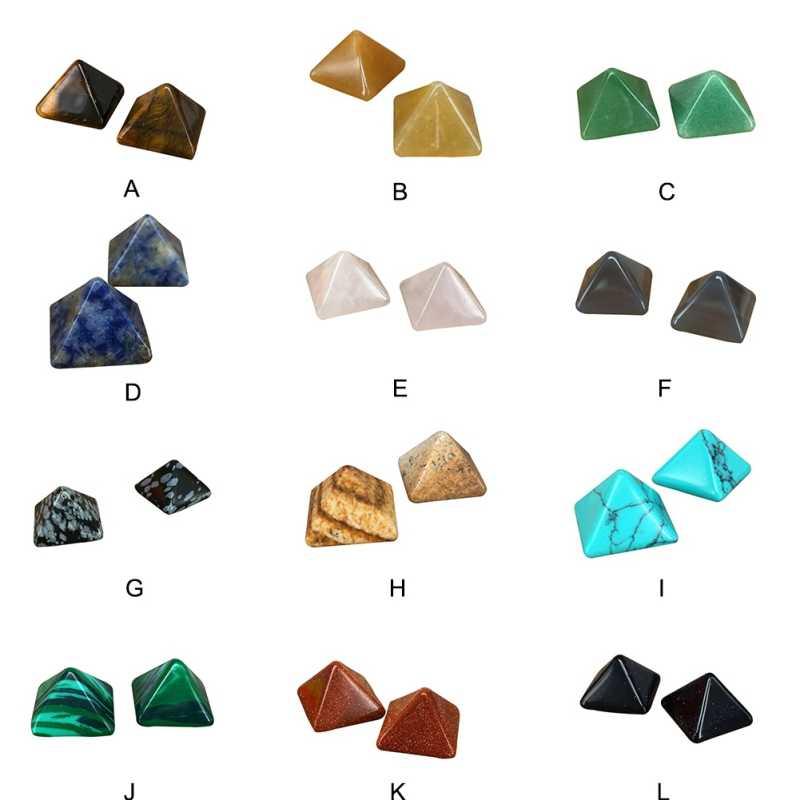 Reiki quartz piramide 힐링 스톤 크리스털 위카 천연 미네랄 홈 공예품 장식품 크리스탈 원석