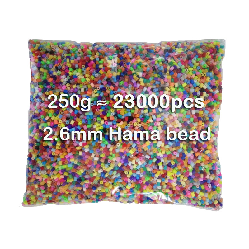 250g/bag 2.6mm Hama Beads 72 Colors For Choose Kids Education Diy Toys 100% Quality Guarantee New Perler Beads Wholesale