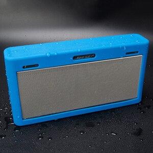 Image 2 - سيليكون لينة واقية غطاء ل بوز ساوند لينك 3 III سماعة لاسلكية تعمل بالبلوتوث علبة سماعات الصوت غطاء 3 ألوان اختياري