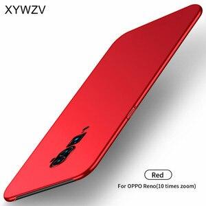 Image 2 - Oppo リノ 10x ズームケース耐衝撃 Silm 高級超薄型ハード PC 電話ケース裏表紙 oppo リノ 10x ズーム Fundas