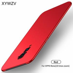 Image 2 - Pour Oppo Reno 10x étui de Zoom antichoc Silm luxe Ultra mince lisse étui de téléphone en pc couverture arrière pour Oppo Reno 10x Zoom Fundas