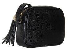 Бесплатная доставка высокого качества Дамская плеча Сумка кисточкой мешок классическая сумка