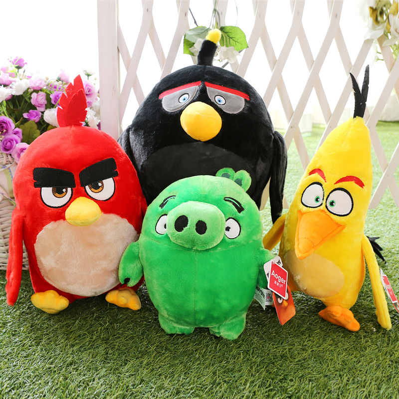18cm 7 Movie Action Figure Feature Birds the Movie Plush Toys Collection