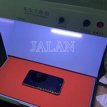 Чистая комната с подсветкой может регулироваться с проверкой функции пыли использование для мобильного телефона ЖК-Ремонт очистка пыли