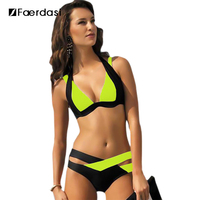 Faerdasi 2017 New Brazilian Bikini Sexy Women Swimwear Swim Suit Plus Size Bikinis Set Maillot De