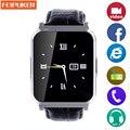 Dispositivos portátiles de smart watch niños reloj bluetooth del teléfono smartwatch mtk6260 reloj deportivo banda de radio inteligente pk gt08 u8