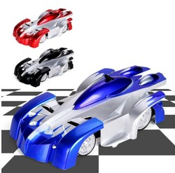 Electricity Cars Remote Control Wall Climbing RC Car LED Lights 360 Degree Rotating Stunt Toys Antigravity Machine Wall Racer