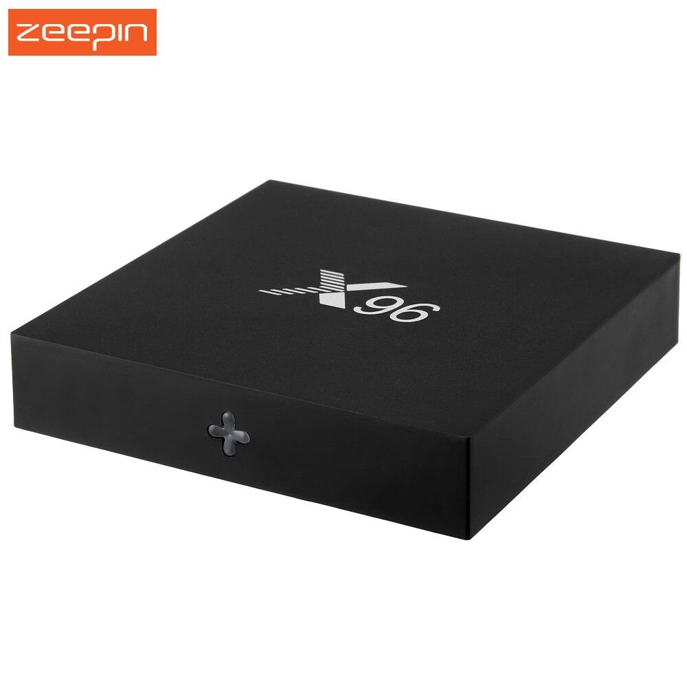 ФОТО X96 TV Box Amlogic S905X Android 6.0 Set Top BOX Quad Core 2.4GHz WiFi HDMI 2.0 with USB 2.0 AV LAN TF Card Slot Set-top Box