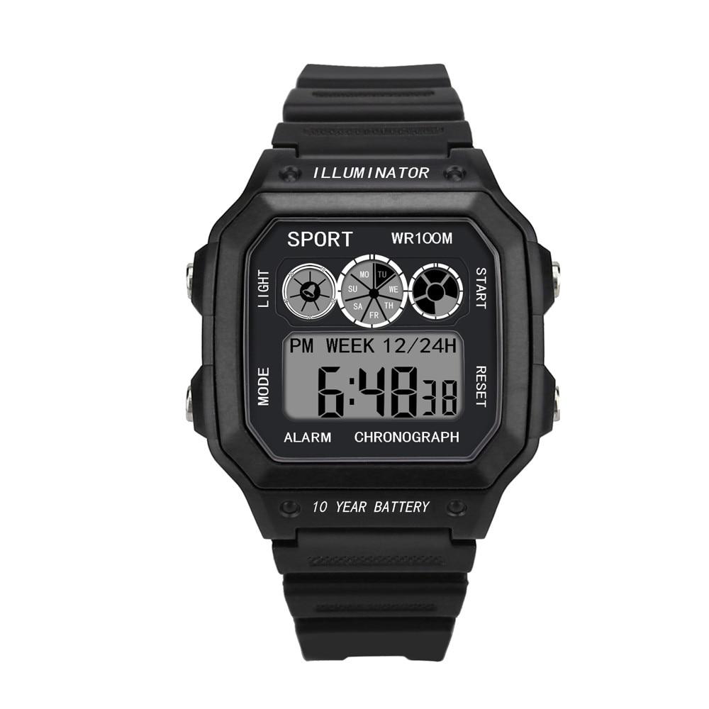 Uhren 2018 Neue Luxus Männer Analog Digital Military Armee Sport Led Wasserdichte Armbanduhr # Ne1025 Reich Und PräChtig Digitale Uhren