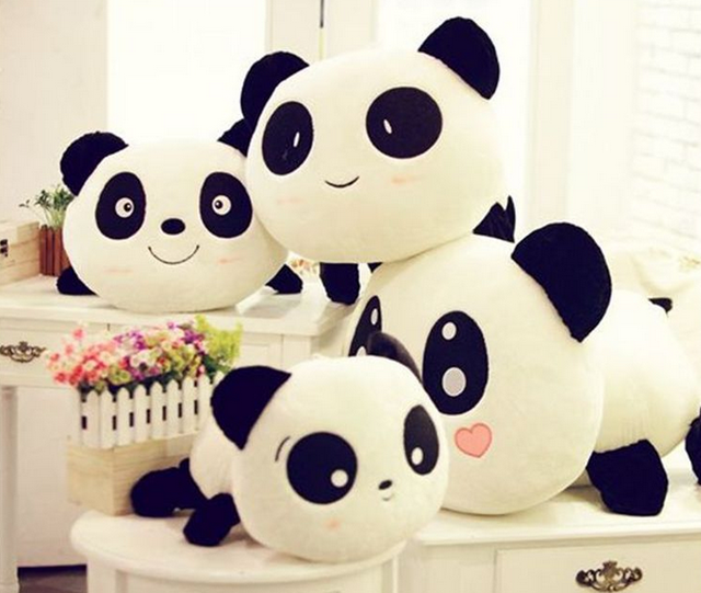 4e84e61c4f2356 R$ 14.52 5% de desconto|20 cm Travesseiro Panda Gigante Mini Plush Toys  Stuffed Animal Toy Boneca Pillow Plush Doll Presente do Dia Dos Namorados  064 ...