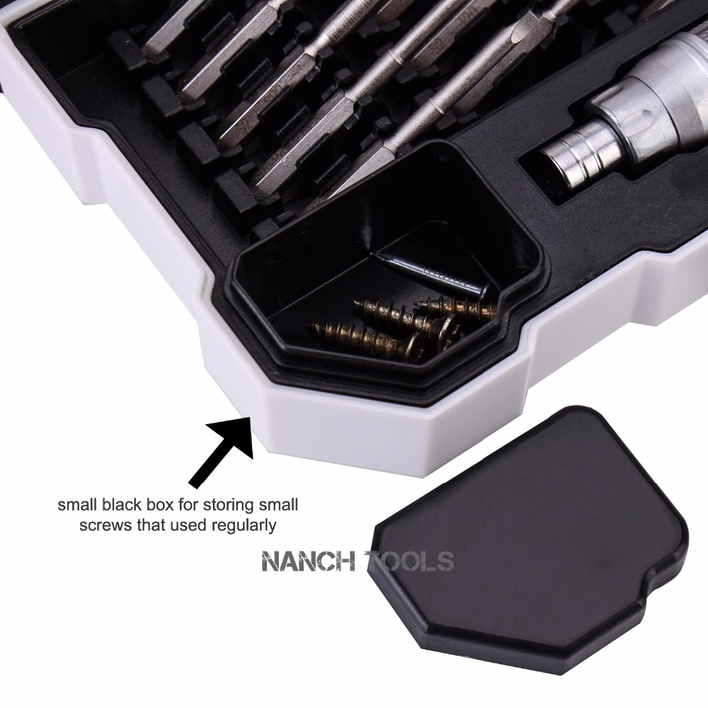 Nanch mágneses csavarhúzó bitkészlet telefonjavító készletek, - Kézi szerszámok - Fénykép 6