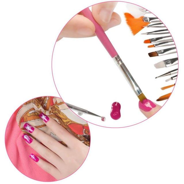 15pcsset Nail Art Pen Professional Nail Art Styling Tools Acrylic