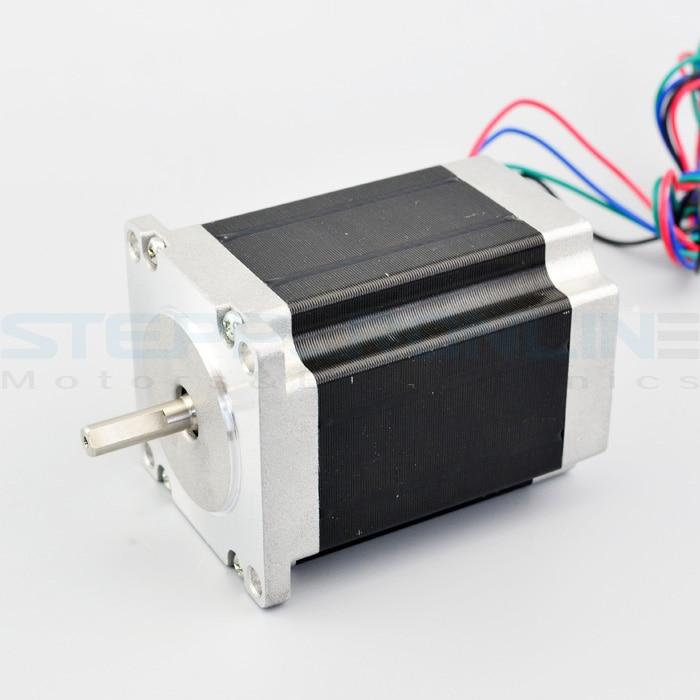 269oz.in Nema 23 CNC Stepper Motor 1.9Nm for CNC Mill Lathe Router Robot