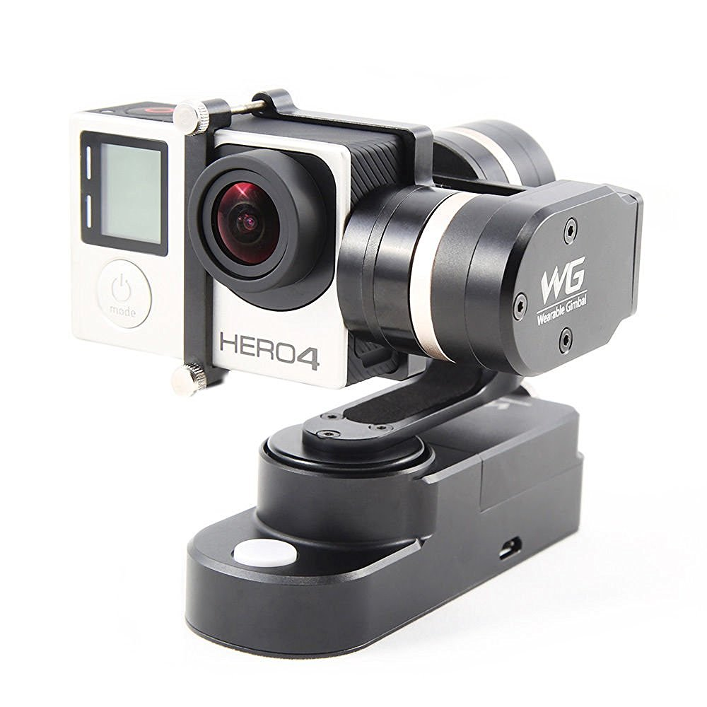 Feiyu FY-WG 3-Axis Wearable Gimbal for Gopro Hero 3 3+ 4 Camera Xiaomi yi original feiyu tech wg fy wg fy wg 3 axis wearable gimbal stabilizer for gopro hero 3 3 4 lcd touch bacpac in stock