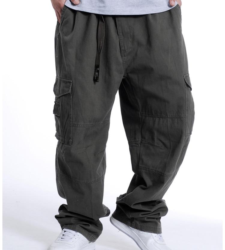 2019 professional 100% satisfaction guarantee 50% price US $35.84 10% OFF Men Elastic Waist Loose Baggy Cargo Pants Men Hiphop  Pants Oversize Sweatpants Casual Hip Hop Long Trouser Mens Khaki Grey  Black-in ...