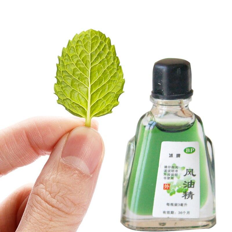 Balm Refreshing Oil 3ml For Headache Dizziness Medicated Oil Rheumatism Pain Abdominal Pain Fengyoujing Essential Balm