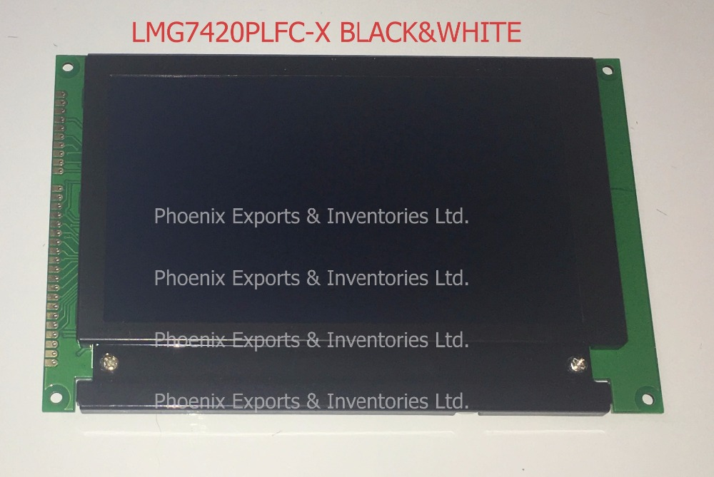 "Image 2 - Brand New LMG7420PLFC X 5.1"" 240*128 LCD DISPLAY PANEL LMG7420PLFC X BLACK LED CCFL-in LCD Modules from Electronic Components & Supplies"