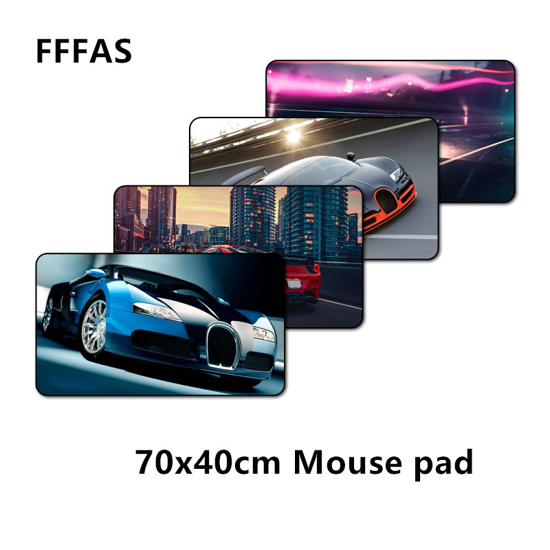 FFFAS 70x40cm XL Large Need For Speed Mouse Pad Game Gamer Gaming Car Mousepad Keyboard Notebook Comeputer Padmouse Laptop Mats