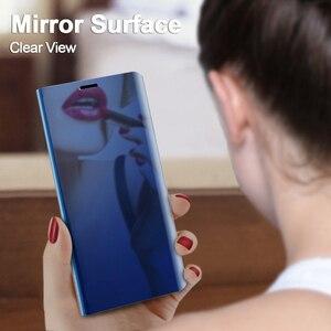 Image 3 - Spiegel Fall Für Samsung Galaxy S10 S8 S9 Plus S7 Rand A6 A8 J4 J6 Plus A7 J8 2018 M10 m20 A10 A20 A30 A40 A50 A60 A70 A80 Fall